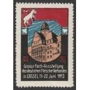 Cassel 1913 Fach-Ausstellung des Fleischer Verbandes