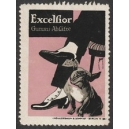 Excelsior Gummi-Absätze (Mann Hund - rosa)