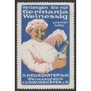 Germania Weinessig ... (blau)