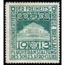 Breslau 1913 Jahrhundertfeier Freiheitskriege (grün)