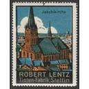 Lentz Tinten-Fabrik Stettin 07 Jakobikirche