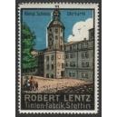 Lentz Tinten-Fabrik Stettin 11 Königl Schloss Uhrturm