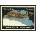 Gerner Bräu München Zweidecker Wright