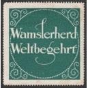 Wamslerherd Weltbegehrt (grün)