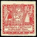 Bad Tölz Jodbad u. Luftkurort in den bayr. Alpen ... (rot)