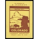Colorado Lookout Mountain 1939 ... Buffalo Bill ...