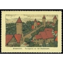Dinkelsbühl Turmpartie an der Stadtmauer