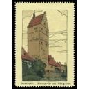 Dinkelsbühl Wörnitz Tor mit Mühlgraben