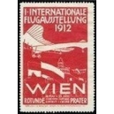 Wien 1912 1. Internationale Flugausstellung (rot)