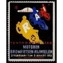 Amsterdam 1953 Tentoonstelling Motoren Bromfietsen ...