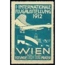 Wien 1912 1. Internationale Flugausstellung (WK 04 - blau)