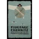 Chemnitz 1911 Flugtage Rundflug durch Sachsen