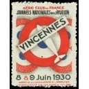 Vincennes 1930 Journées de l'Aviation ... (WK 01)