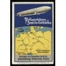 Hamburg Amerika Linie Passagierfahrten mit Zeppelin ...(WK 01)