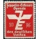 Zeppelin - Eckener-Spende des Deutschen Volkes 10 Pf. (rot)