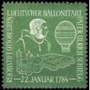 1. Deutscher Ballonstart Pater Ulrich Schiegg 1784