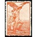 Firenze 1911 Circuito Aereo Campo di Marte (orange)