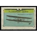 Flugsport Serie Wrightapparat in der Kurve