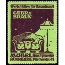 Braun Möbel Kunstgewerbe Nürnberg ... (WK 01)