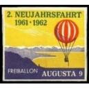 2. Neujahrsfahrt 1961 - 1962 Freiballon Augusta 9