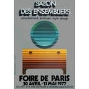 Paris 1977 Foire de Paris Salon des ensembliers