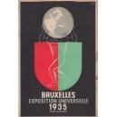 Bruxelles 1935 Exposition Universelle Avril - Novembre