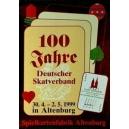 Deutscher Skatverband 1999 in Altenburg, 100 Jahre