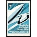 Hannover 1964 Deutsche Luftfahrt - Schau