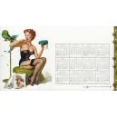 Gil Elvgren 1959 - 04 (Kalender / calendar / calendrier)