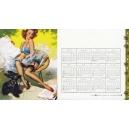 Gil Elvgren 1959 - 10 (Kalender / calendar / calendrier)
