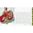 Gil Elvgren 1959 - 11 (Kalender / calendar / calendrier)