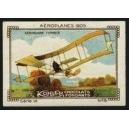 Kohler Serie VI No 05 Aéroplanes 1905 Aéroplane Ferber