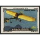 Kohler Serie VI No 09 Aéroplanes 1914 Monoplan Moisant