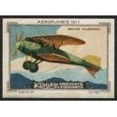 Kohler Serie VI No 10 Aéroplanes 1917 Biplan Allemand