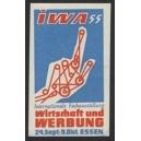 Essen 1955 IWA ... Wirtschaft und Werbung ... (01)