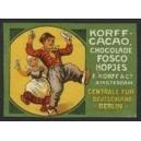 Korff Cacao Chocolade Fosco Hopjes ... Berlin (01)