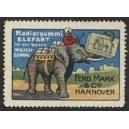 Marx Hannover Radiergummi Elefant ... (01)