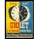 Uhret ... Dansk Uhrmager Centralforening