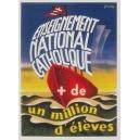Enseignement National Catholique + de un million d'élèves