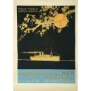 Norddeutscher Loyd Bremen Nach Indien China Japan (WK 06878)