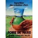 Paris 1979 Foire de Paris Exposition des créations d'art ...