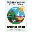 Paris 1975 Foire de Paris Salon du Tourisme ... (40x60)
