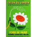 Paris 1979 Foire de Paris Salon du Jardin ... (40x60)