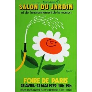 Paris 1979 Foire de Paris Salon du Jardin ... (40x60) - poster ...