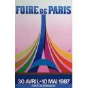 Paris 1987 Foire de Paris ... (40x60)