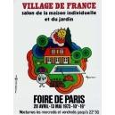 Paris 1973 Foire de Paris Village de France ... (120x160 - AL)