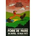 Paris 1977 Foire de Paris Salon du Tourisme ... (40x60 - AL)