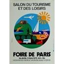 Paris 1975 Foire de Paris Salon du Tourisme ... (40x60 - AL)