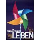 München 1990 Kirchentag In Gerechtigkeit leben ... (59x84)