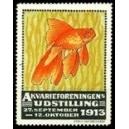 Schweden 1913 Akvarieforeningen Udstilling (WK 001)